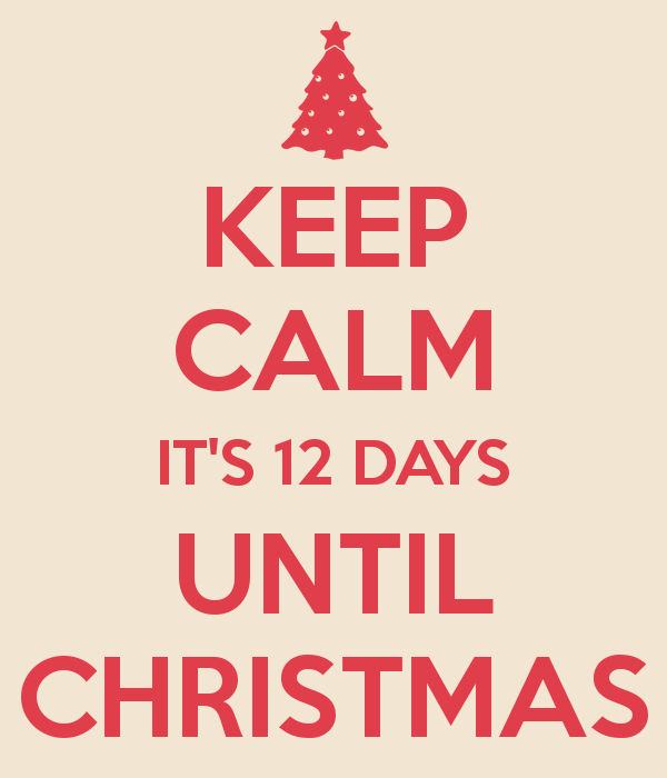 christmas countdown12 days till christmas - 12 Days Till Christmas
