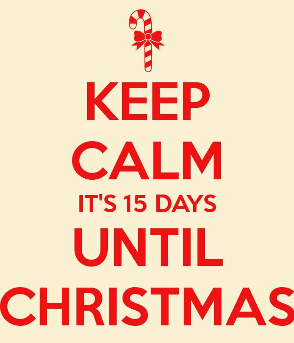 Christmas Countdown—15 Days Till Christmas | VictoriaHecnar.com