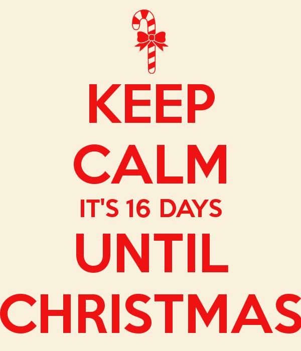 Christmas Countdown—16 Days Till Christmas   VictoriaHecnar.com
