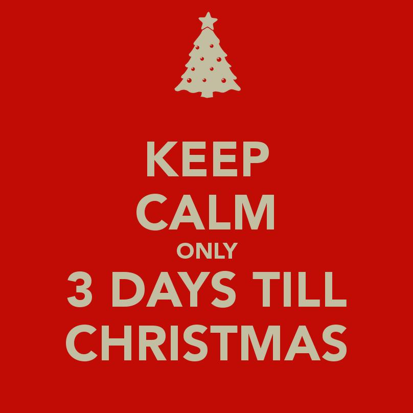Christmas Countdown—3 Days Till Christmas | VictoriaHecnar.com